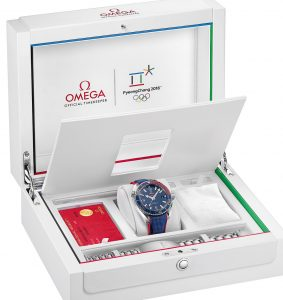 Review New 2018 Olympics Omega Seamaster Planet Ocean Replica Watch 1