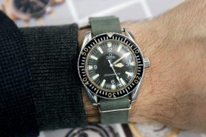 Replica Omega Seamaster 300 Military 1957 Watch Review