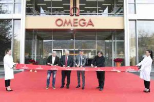 Swiss Watchmaker Omega Unveils Newest Production Building