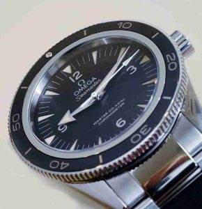 Sedna Gold Omega Seamaster 300 Titanium 18K 41mm Stainless Steel Replica Watch