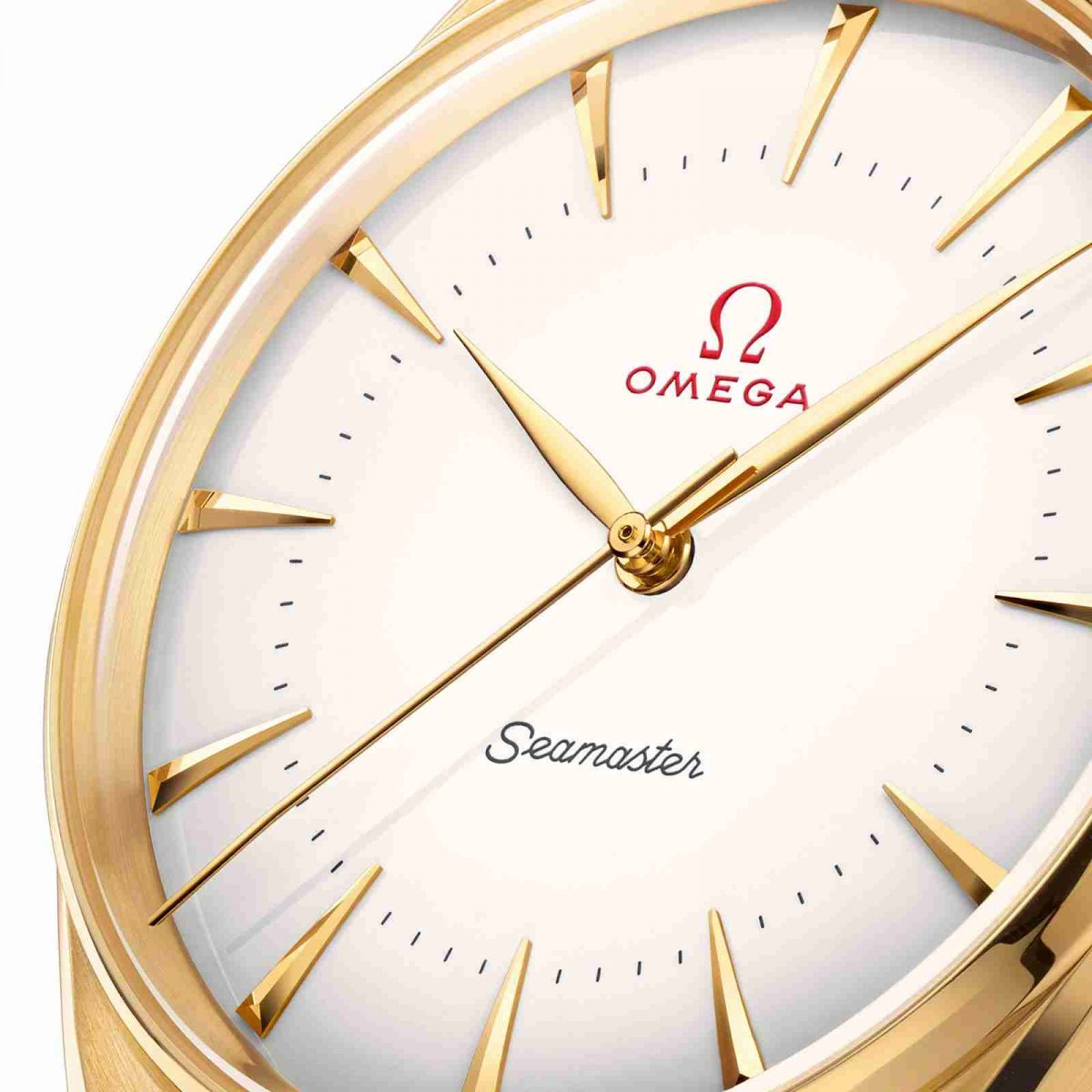 Enamel Dials Replica Omega Seamaster Olympics 1950s 18k Gold 39.5mm Watch Review