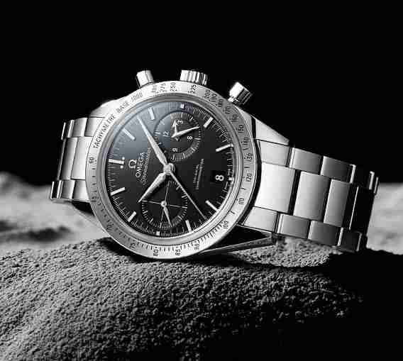 Classic Swiss Replica Omega Speedmaster Collection 57 Co-Axial Chronograph Titanium 41.50mm Watch Review