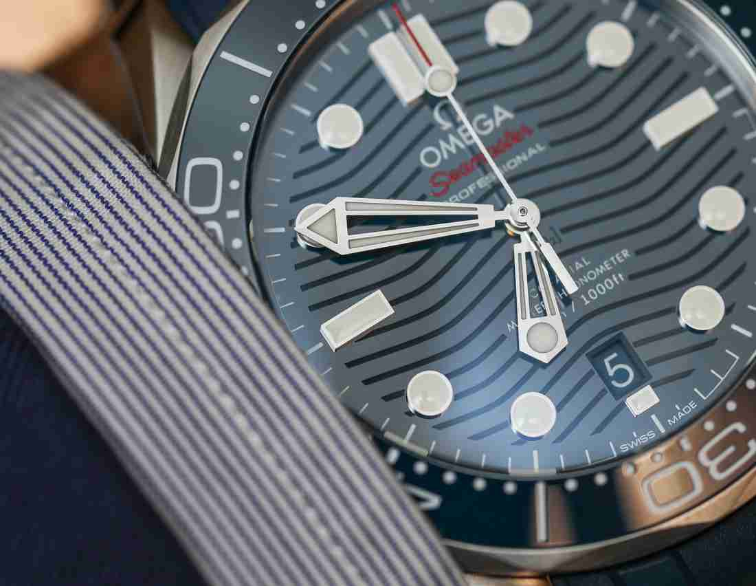 Swiss Replica Omega Seamaster Diver 300M Professional Steel Watches Review For 2018