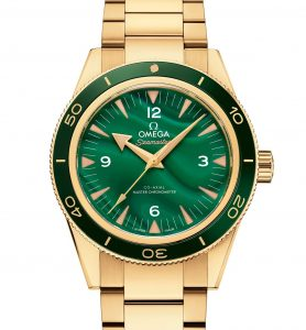 Best Swiss Replica Omega Seamaster 300 Malachite And Lapis Lazuli 18k Gold Watches Review