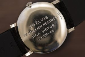 Special Little Replica Omega Elvis's Tiffany-Signed 18k Gold Watch Review