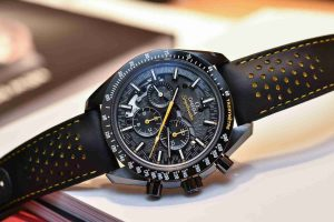 FIFA 2018 World Cup Special Replica Omega Speedmaster Dark Side of the Moon Apollo 8 Watch Review