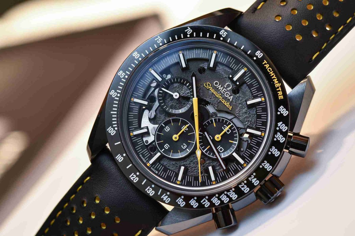 FIFA 2018 World Cup Special: Replica Omega Speedmaster Dark Side of the Moon Apollo 8 Watch Review