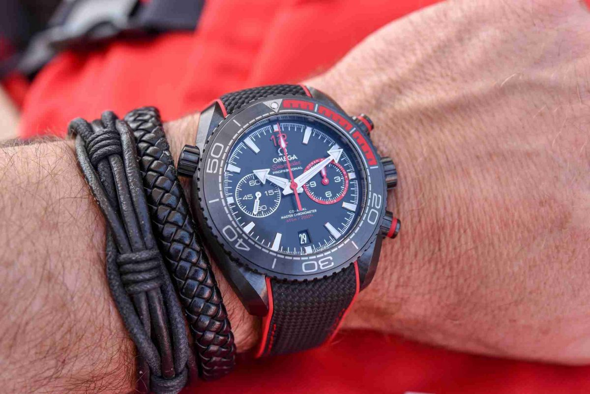 Limited Edition Replica Omega Seamaster Planet Ocean Deep Black Volvo Ocean Race Winner's Watch Review