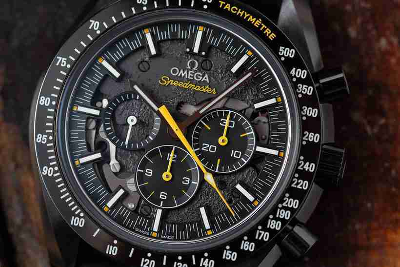 Swiss Replica Omega Speedmaster Moonwatch Apollo 8 Dark Side Of The Moon Watches Introducing For 2019 New Year