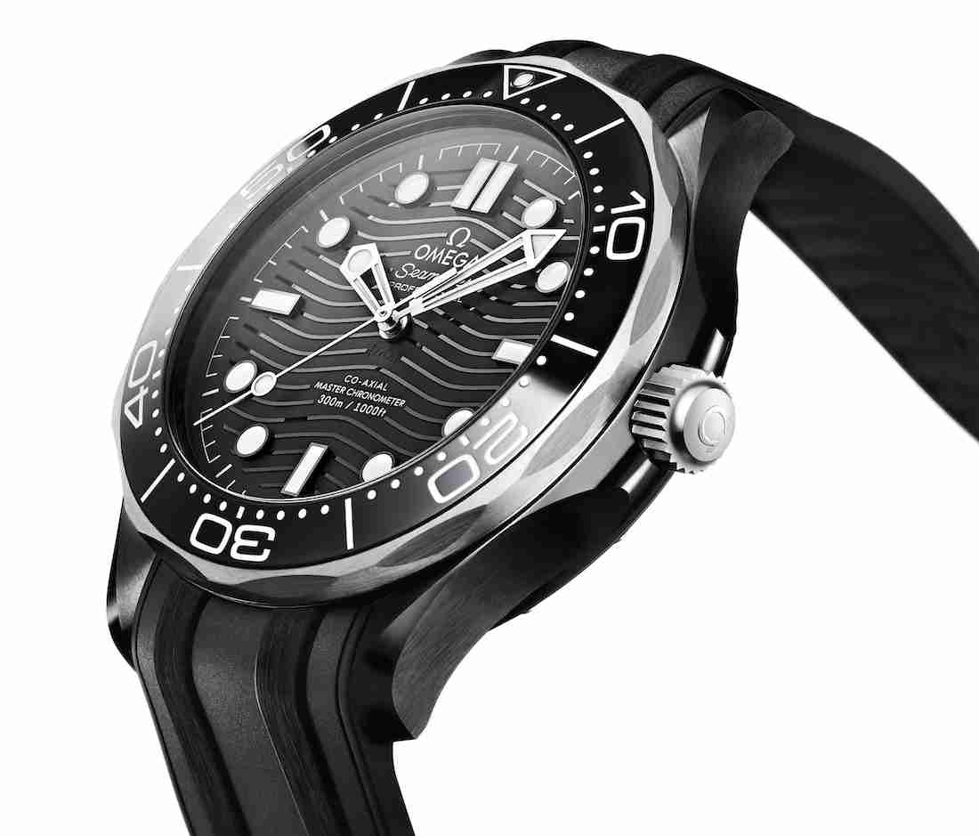 SIHH 2019 Black Ceramic Titanium Top Omega Seamaster Diver 300M Replica Watches Guide For New Year