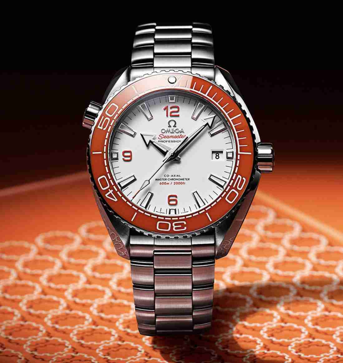The Orange Bezel Omega Seamaster Planet Ocean 600M Replica