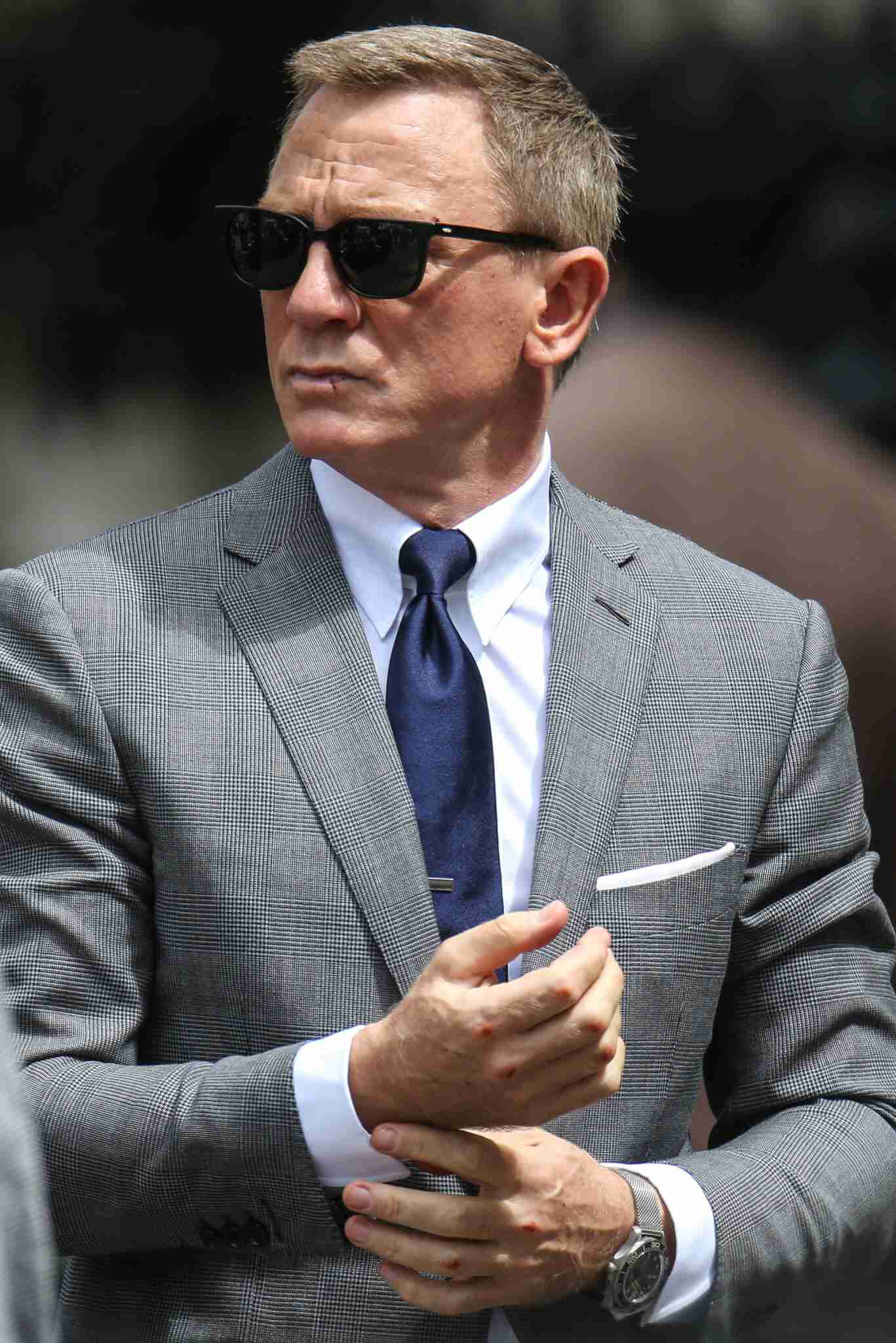 Daniel Craig And His Omega Seamaster 007 Potential Replica Watch