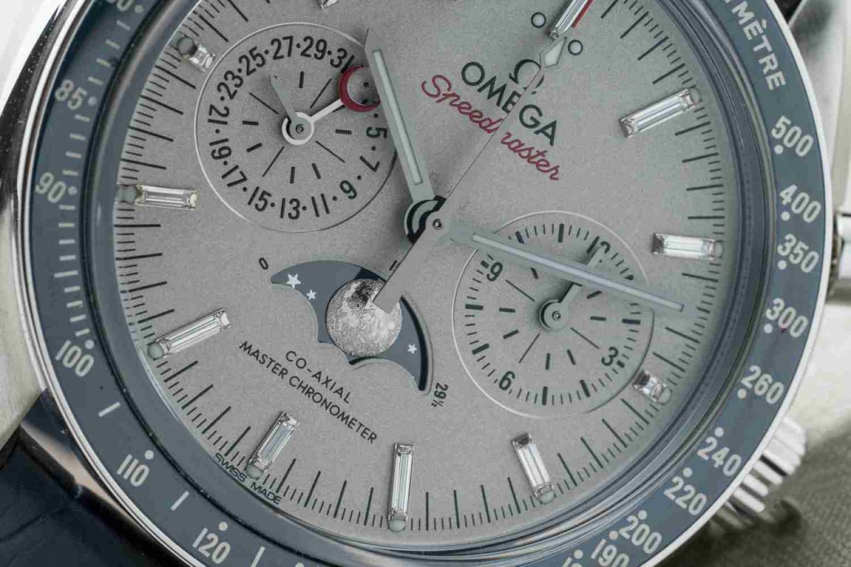 The 2019 New Omega Speedmaster Platinum Moon Master Chronometer Replica