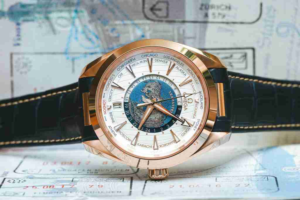 In Depth The Omega Seamaster Aqua Terra Worldtimer Master Chronometer Sedna Gold Replica
