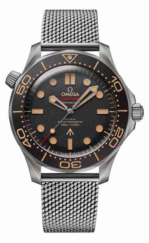 The Story of Replica Omega Seamaster Diver 300M And James Bond