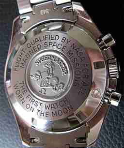 Replica Omega Speedmaster Professional Space Flown Stainless Steel Chronograph