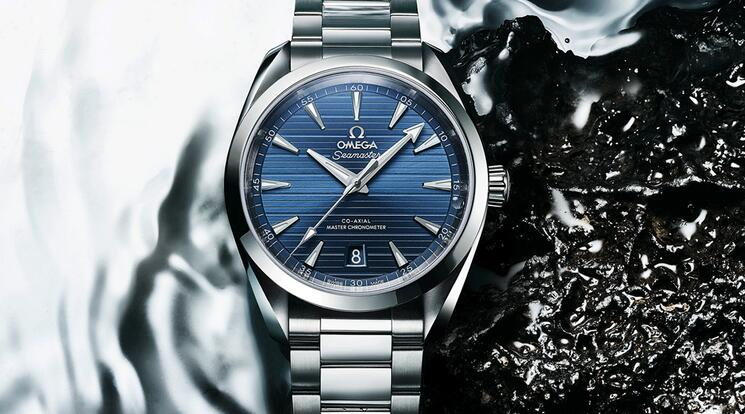 The New Swiss Replica Omega Seamaster Aqua Terra Blue – Green Dial Watches Discussion