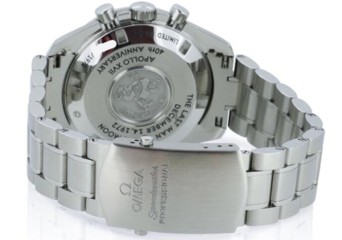 In Depth The Replica Omega Speedmaster Apollo XVII 40th Anniversary Watches