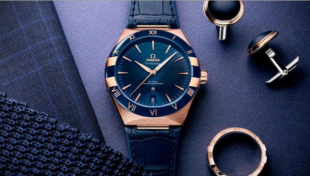 Replica Omega Constellation Blue Dial Calibre 8900 18K Gold 41mm Dress Watches Buying Guide
