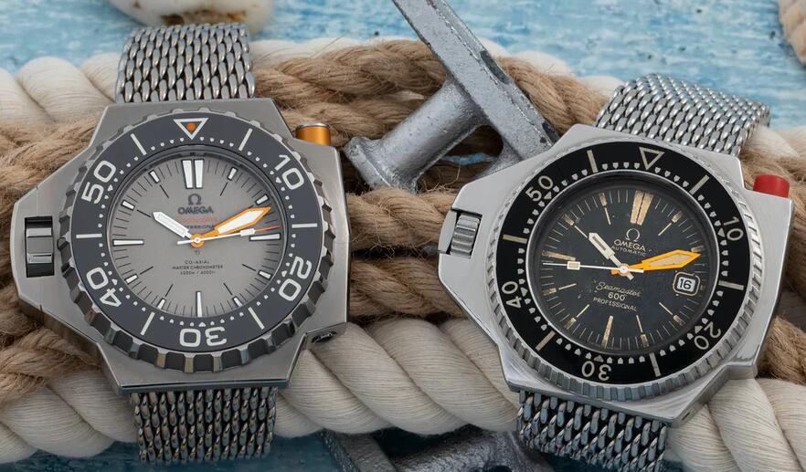 The History of Replica Omega Seamaster 600 Ploprof Diver's Watches Review 1