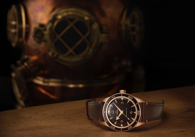 New Replica OMEGA Seamaster 300 Bronze Stainless Steel 41mm Diver Watch Review 1