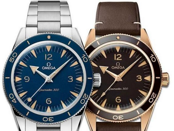 New Replica OMEGA Seamaster 300 Bronze Stainless Steel 41mm Diver Watch Review 2