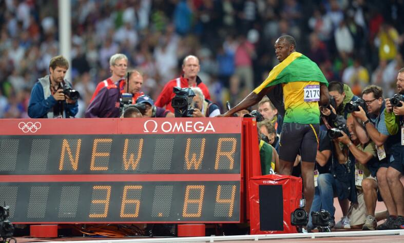 Replica Omega Providing Official Timekeeper Service For The Athletes In Olympics Games 1