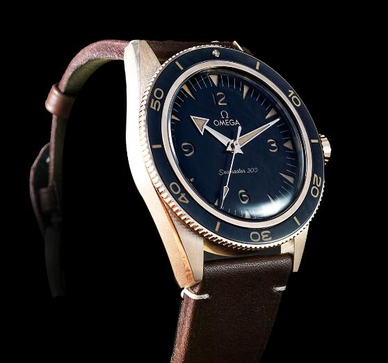 Introducing The Replica Omega Seamaster 300 18K Bronze Gold 41mm Watches 2