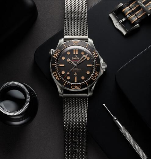 Introducing The Replica OMEGA Seamaster Diver 300M 007 No Time To Die Edition Watch 2